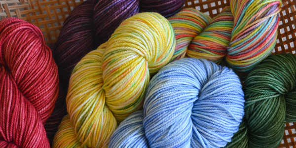 dyed-fibres