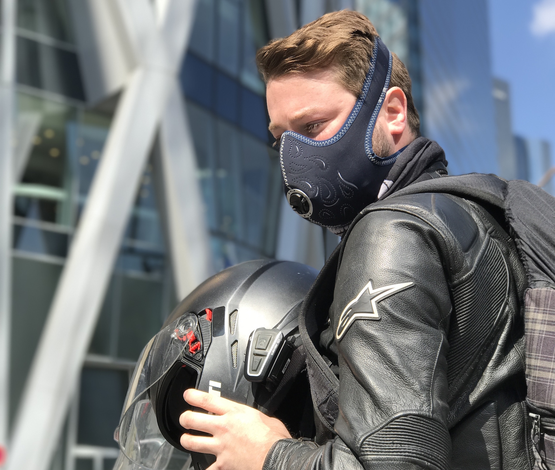 masque anti pollution fantaisie