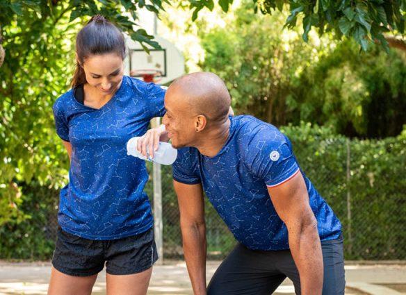 Coureur du Dimanche T-Shirt de sport homme et femme