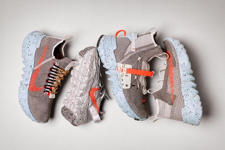 Une nouvelle sneaker Nike Space Hippie à base de déchets de