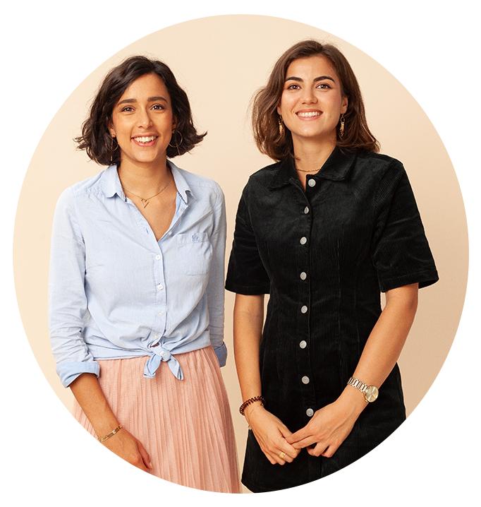 Mélissa Zitouni et Océane Brière fondatrices de Lolo lingerie