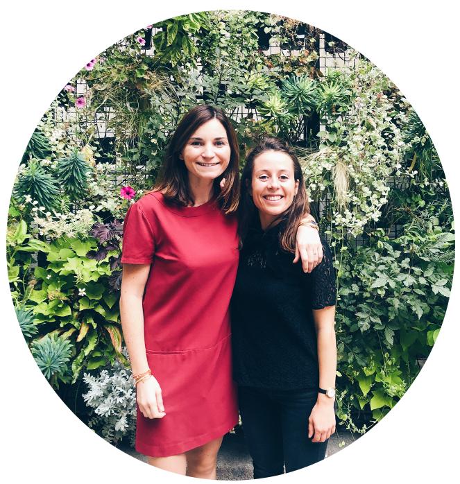 Marie Bandicourt et Anne-Claire Chanvin, fondatrices des Apprêtés