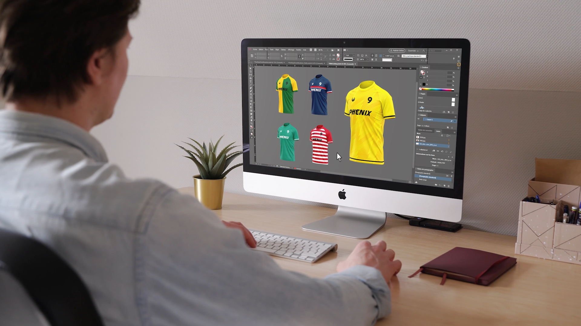 design des maillots phenix sport
